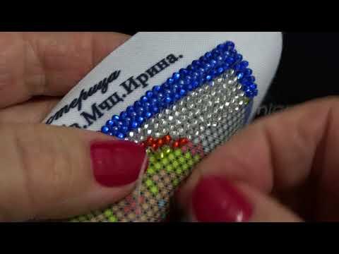 Видео урок вышивания бисером иконы