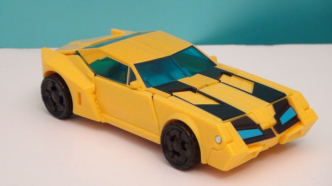 Bumblebee Transformers Robots In Disguise Animated Video Toy Review Youtube