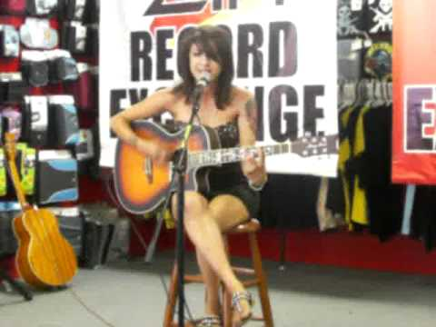 "Alexia Performing ""Broken Frames"" Acoustic"