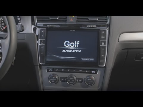 alpine style golf 7 navigation premium youtube. Black Bedroom Furniture Sets. Home Design Ideas