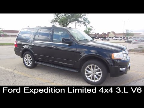 2017 Ford Expedition Limited 4x4 3.5L V6 SUV | Rental Car Review
