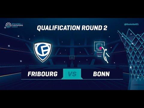Fribourg Olympic v Telekom Baskets Bonn - Qual. Rd 2 - Full Game - Basketball Champions League 19