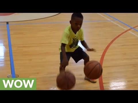 4-year-old basketball phenom shows off insane skills!