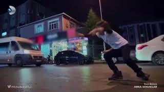 Arka Sokaklar 459 Bölüm Ali'ye Flakka İçiriliyor Ali Deliriyor Araba çarpıyor !