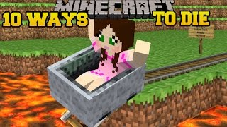 Minecraft CRAZIEST DEATHS IMAGINABLE - MORE WAYS TO DIE - Custom Map