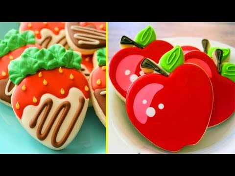 Top 5 Amazing Cookies Decorating Compilation In The World 2018 - Sugar Cookies Decorating