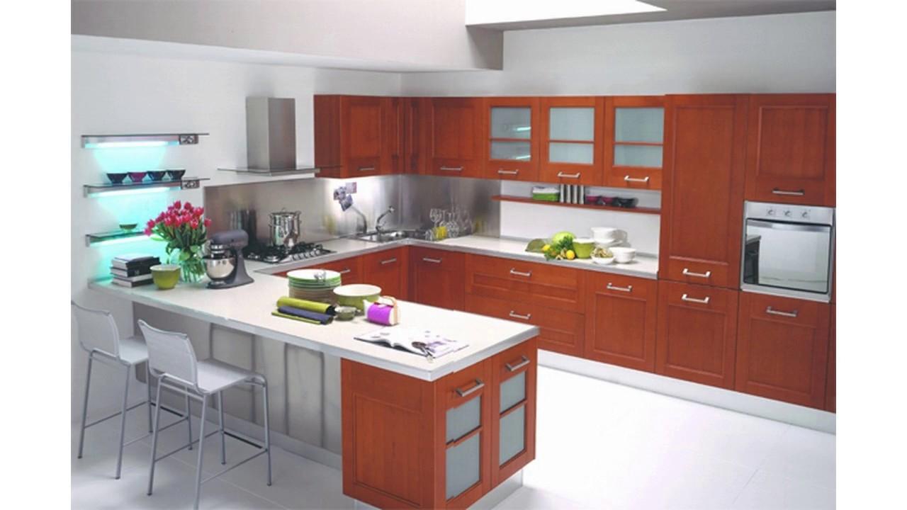 Europäische küchenschrank design - YouTube