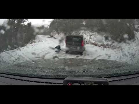 Kar Yağışında Spil Dağı Milli Parkı Yol Durumu - Karda Sürüş - Zincirsiz Çıkabildim mi? Bölüm 1