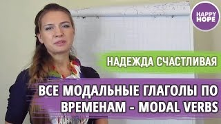 ВСЕ МОДАЛЬНЫЕ ГЛАГОЛЫ  CAN, MUST, SHOULD, WOULD, COULD