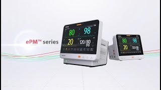ePM Series patient monitor- The evolution of simplicity