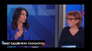 DC Shorts Tulsi Blasts Clinton On The View