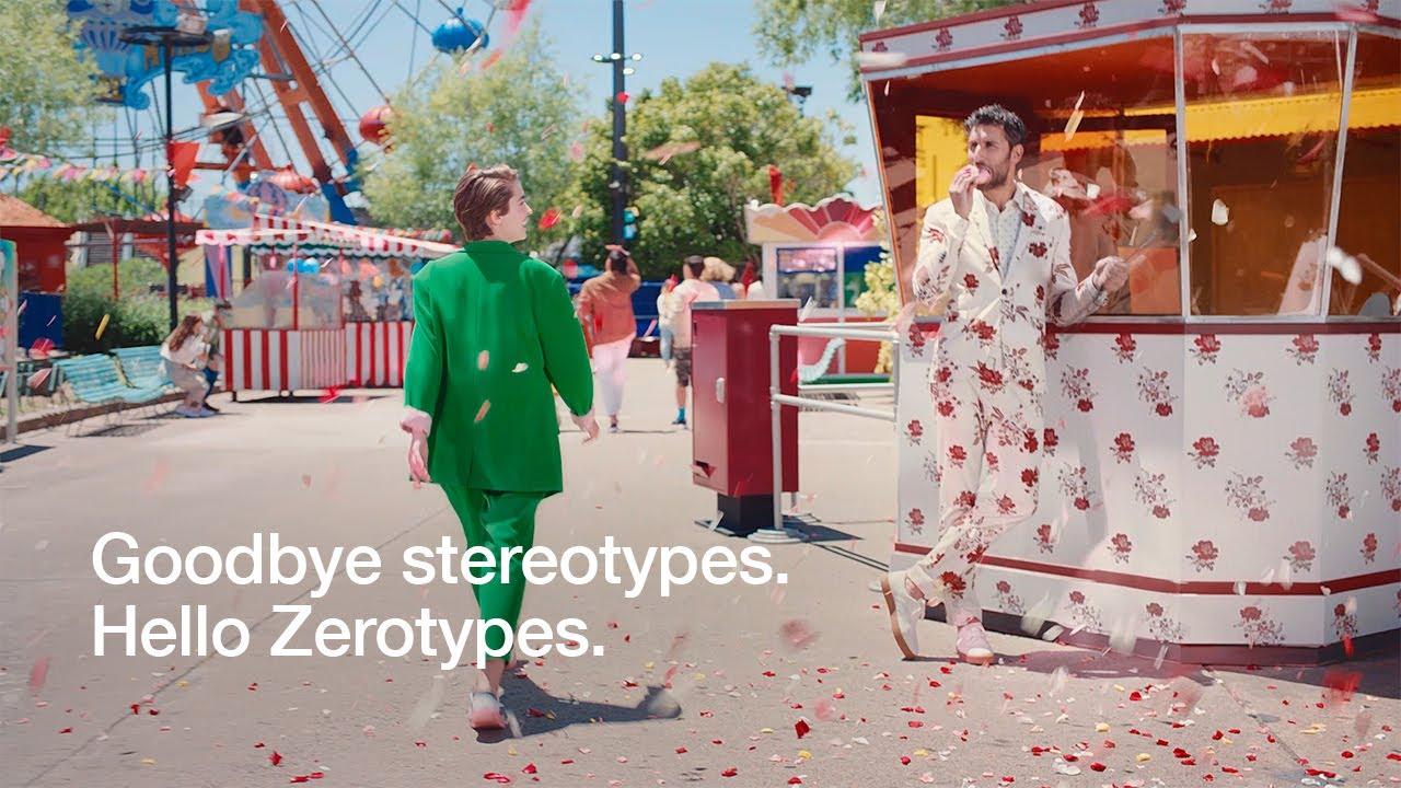 Zalando: Goodbye Stereotypes. Hello Zerotypes.