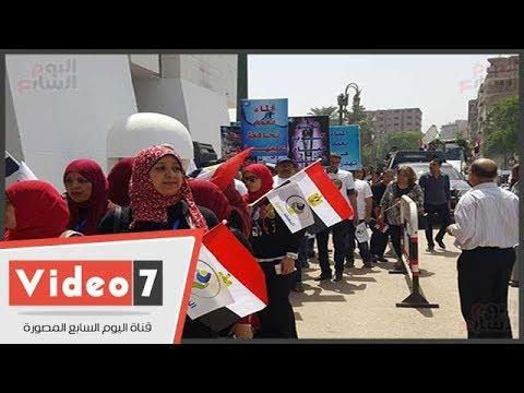 اليوم السابع :بدء الاحتفال بعيد أسيوط القومى بمسيرة من أمام مبنى المحافظة