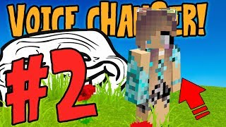 USING VOICE CHANGER TO TROLL MOD PART 2! (Trolling Server Mods)