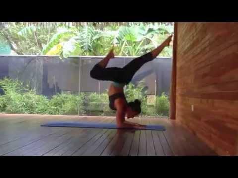 yoga flow  dolphin pose forearm postures  forearm