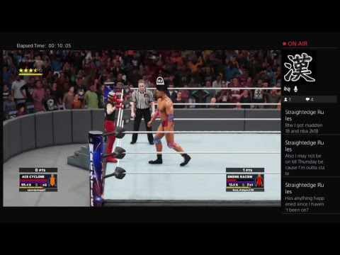 Ace Cyclone vs Ending Racism World Title