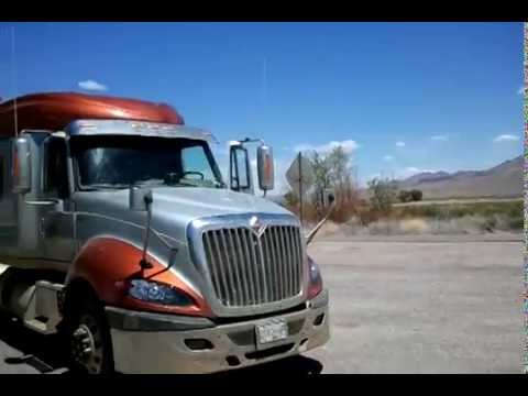 Trucking the Extraterrestrial Highway near Area 51