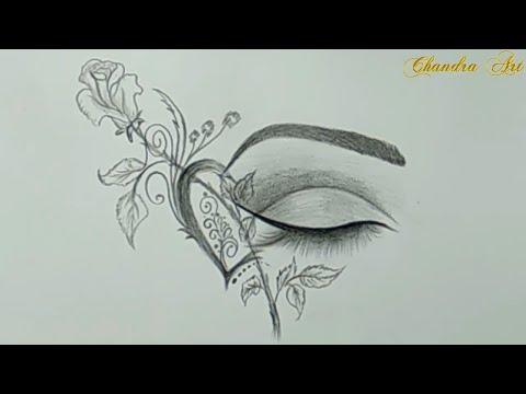 cool-drawings---pencil-drawing-a-beautiful-eye-#easy