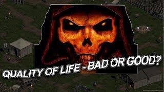 Diablo 2: Do we want QOL Changes? - Diablo 2 HD Remaster talk.
