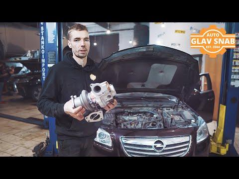 Opel Insignia —  турбина сильно гонит масло и ошибка по недодуву. Ремонт турбины (таймлапс).