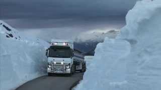 Renault Trucks shooting film in Norway