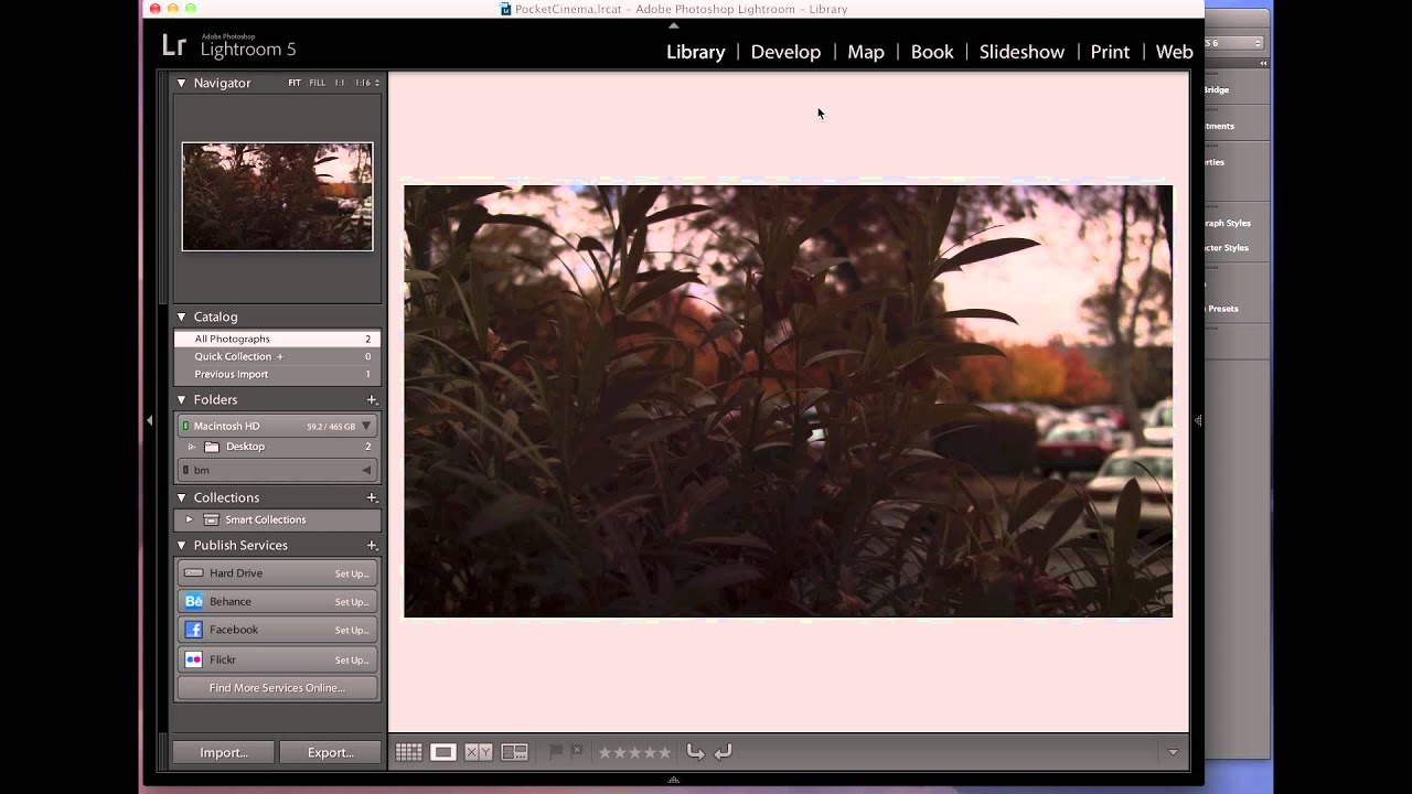 How To Edit BlackMagic Pocket Cinema Camera RAW from Adobe Lightroom Preset  / Profile