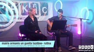 Mairis Ormanis un Gunita Lazdāne | Rutīna | LIVE @PAKAC | 05.02.2016 | Preiļi