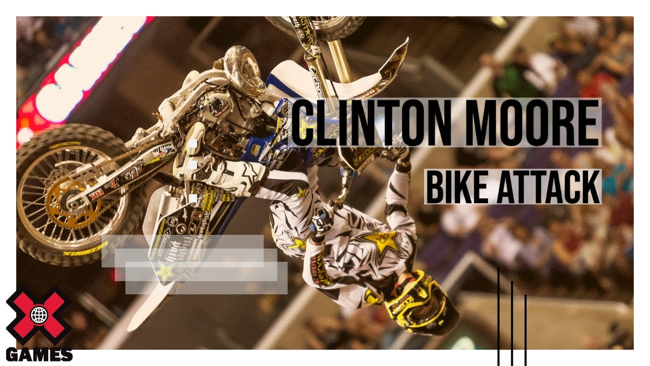 X Games Los Angeles 2012 Clinton Moore Bike Attack Espn X Games