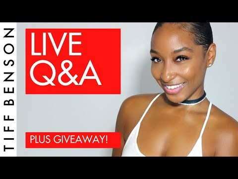 LIVE Q&A - ASK ME ANYTHING NOW! + GIVEAWAY