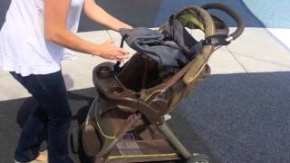 No-pey Portable Changing Table For Your Car Seat And Stroller