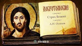 Страх Божий. Алексей Ильич Осипов