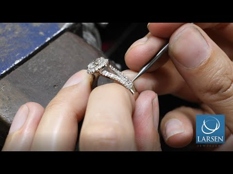 The Cleaning and Polishing of an Engagement Ring