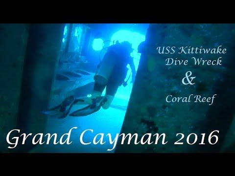 SWIMMING THROUGH SUNKEN SHIP! | USS Kittiwake & Coral Reefs | Grand Cayman Part 1