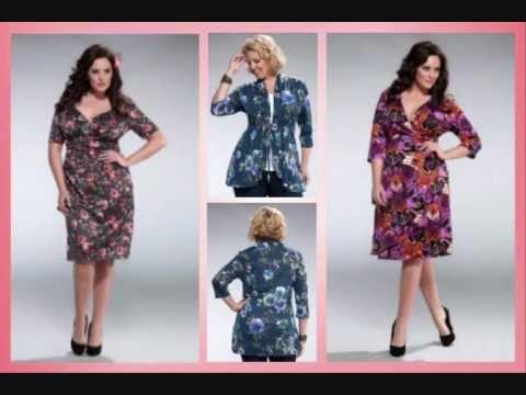 Floral Plus Size Styles from Kiyonna - Plus Size Fashion TV