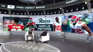 New Rams CB Marcus Peters was on nflnetwork