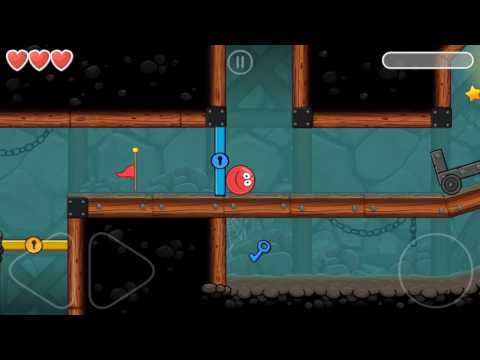 Red Ball 4   Into The Cave Level 65   Android Gameplay And Walkthrough