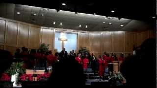 Zion Baptist Church Christmas Service, Shreveport, Louisiana 12-23-12