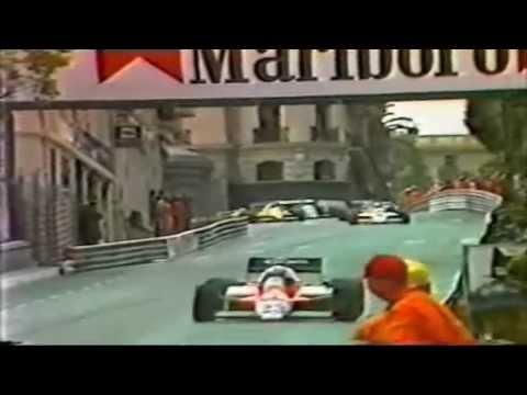 Keke Rosberg Best Drives Monaco 1983