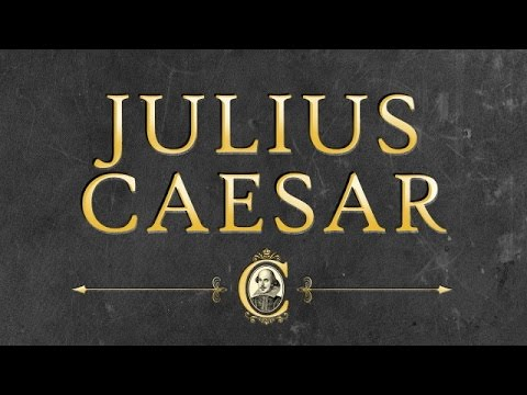 Julius Caesar by William SHAKESPEARE by Tragedy Audiobooks - YouTube