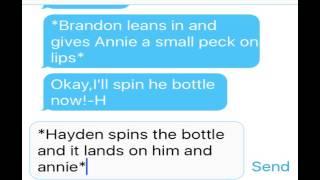 Spin the bottle// Annie Hayden Carson kenzie and brandon//ep.3
