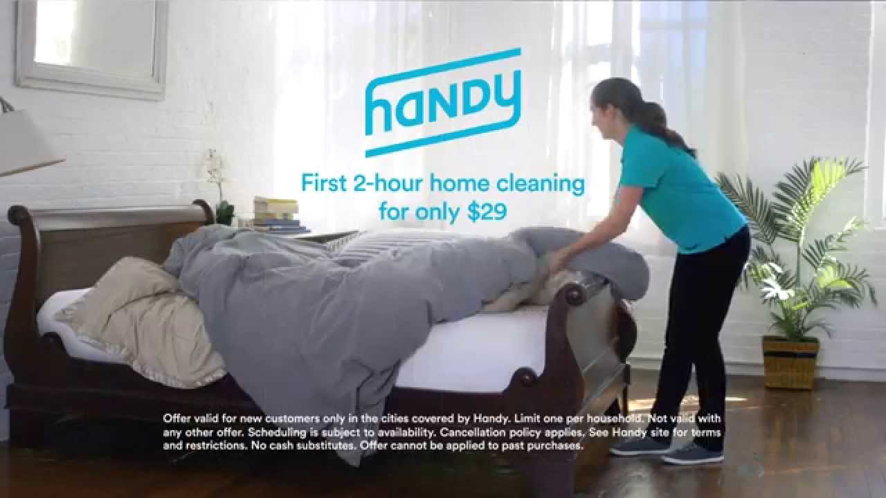 House cleaning, home cleaning, furniture assembly, TV mounting and other handyman services. Book in 60 seconds. Top-rated local professionals. Handy Happiness Guarantee.