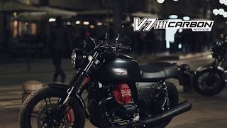 V7 III CARBON, Built in limited and numbered production - Moto Guzzi official video