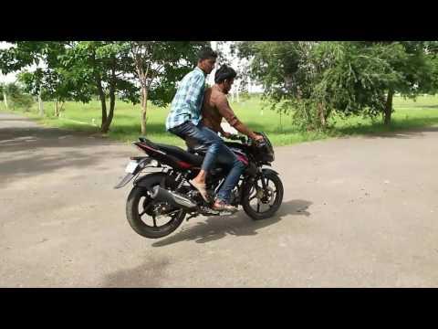 Pulsar 150 Stunts Gannavaram