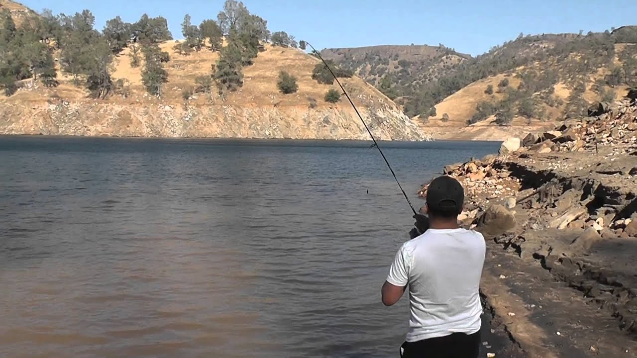millerton lake fishing sept 2013 youtube