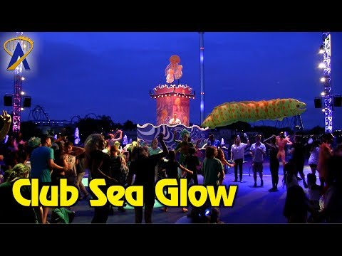 Club Sea Glow Dance Party at SeaWorld Orlando's Electric Ocean