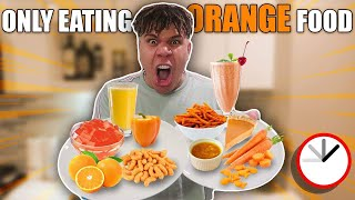 i-only-ate-orange-food-for-24-hours-challenge-impossible
