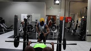 Trying To Show Off At The Gym Gone Wrong (Leon Gumede)