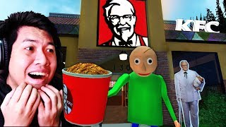 จะเกิดอะไรขึ้น! ถ้าคุณครู Baldi เป็นพนักงาน KFC 1 วัน