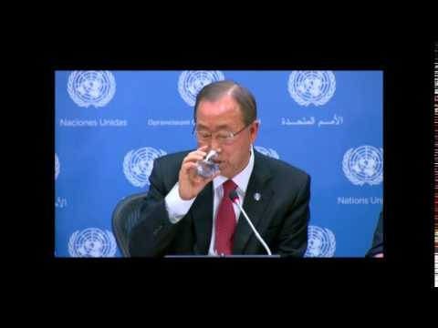 At UN, Does Ban Ki-moon Get Correspondents' Questions in Advance? He Reads Answers