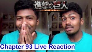 Ackermans & More!!! - Attack On Titan Manga Chapter 93 Live Reaction (Shingeki no Kyojin)